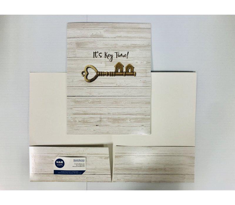 Document Folders - Key Time - 5pk