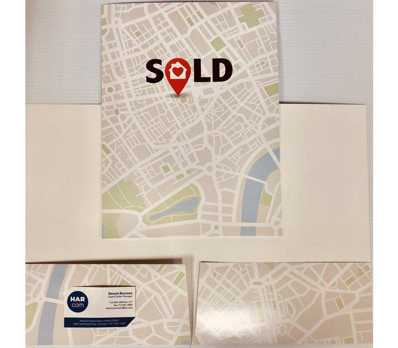 Document Folders - SOLD Map - 5pk