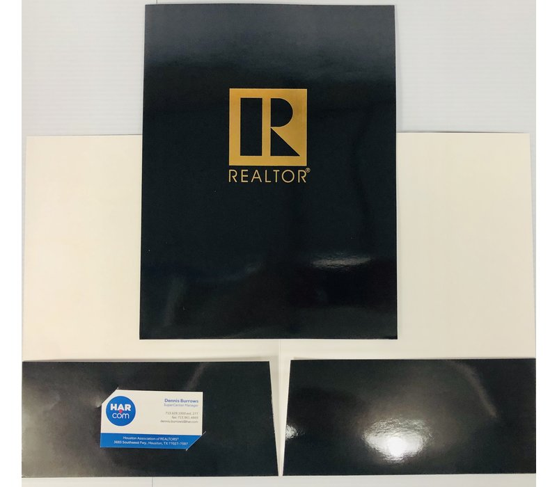 Document Folders - Black - R - 5pk