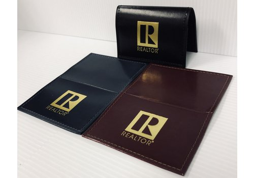 Realtor R Professional Business Card Holder -