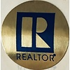 Realtor R Stickers - Foil - Gold