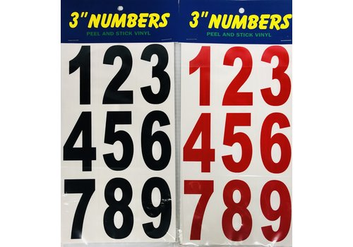 "Numbers - 3"" -"
