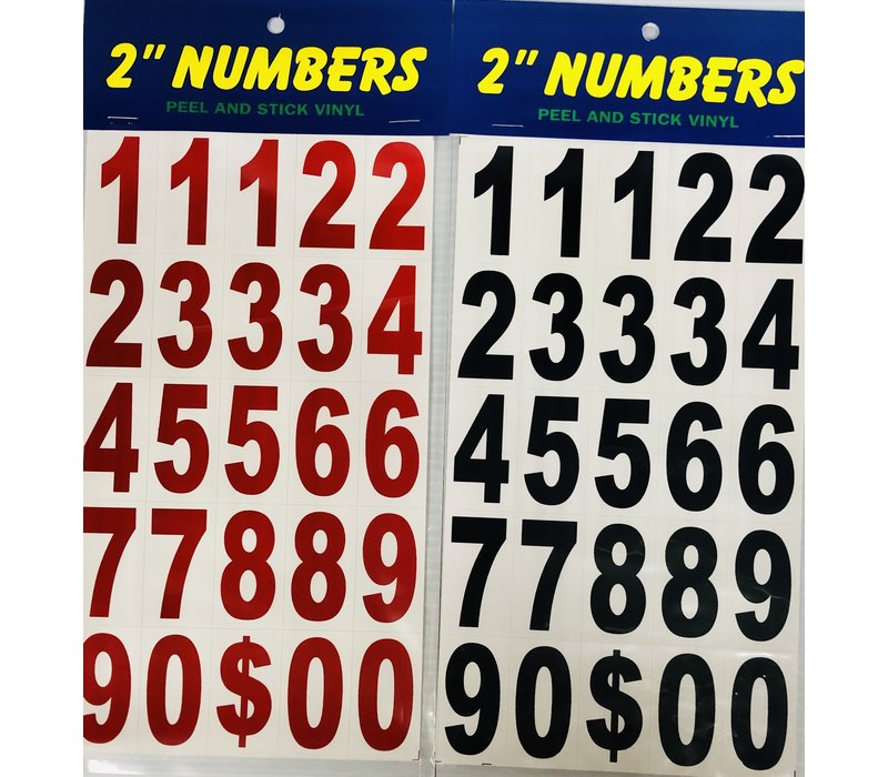 "Numbers - 2"" -"