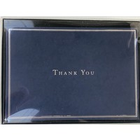 Cards - Thank You - Navy Blue