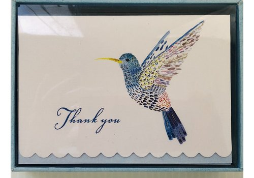 Cards - Thank You - Hummingbird