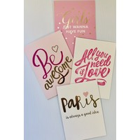 Cards - Girly Fun - Assorted
