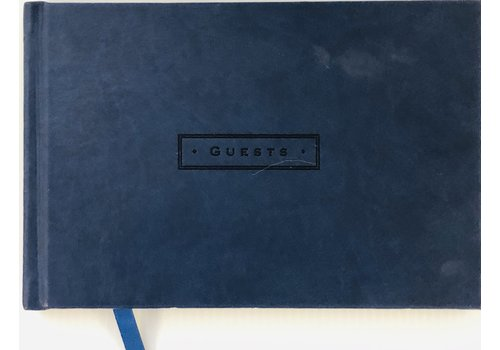 Guest Book - Midnight (Navy)