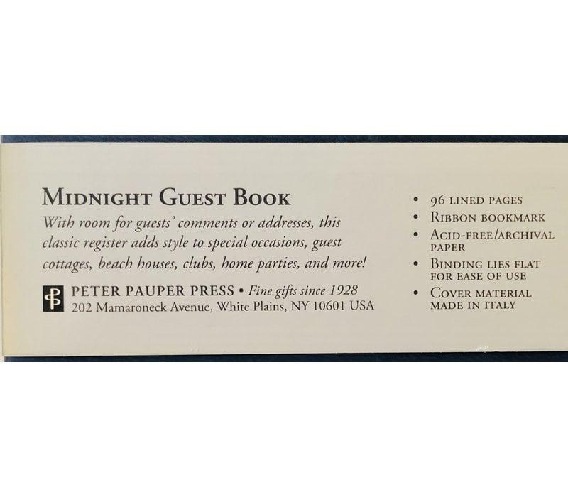 Guest Book - Midnight (Navy)