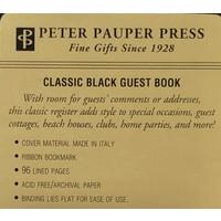 Guest Book - Black