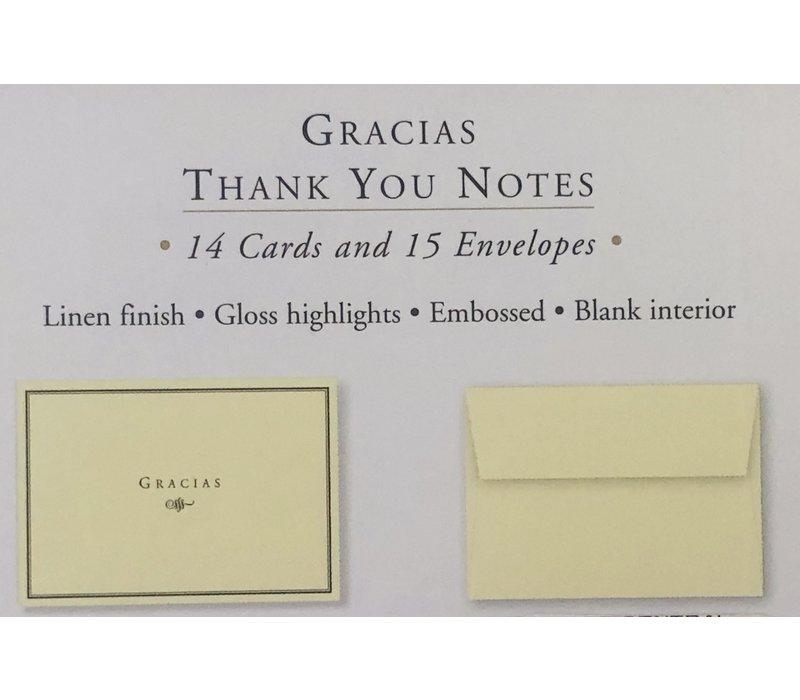 Cards - Thank You - Gracias
