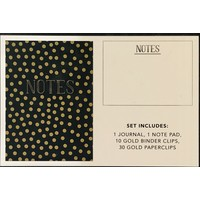Stationary Set - Gold Dots