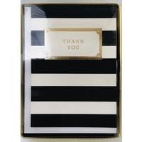 Cards - Thank You -  Elegant Stripes
