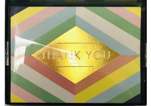 Thank You Cards - Luxe - Stripes