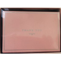 Cards - Thank You - Pink Elegance