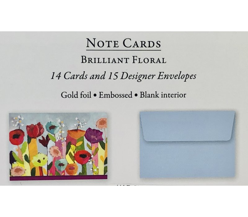 Cards - Brilliant Floral