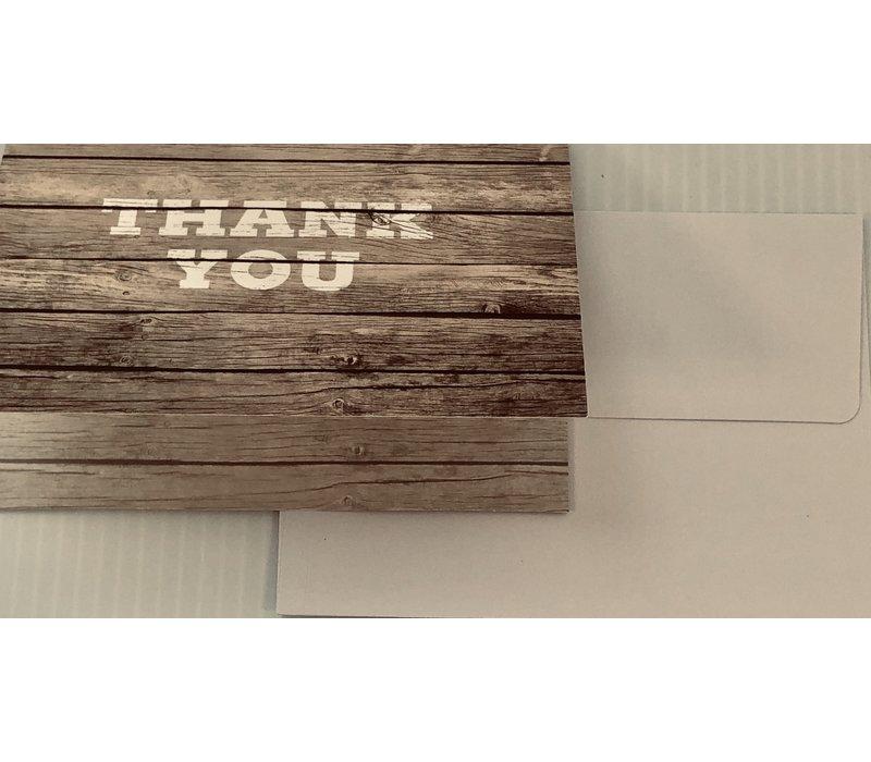 Cards - Box - TY Barn Wood - 15 cards