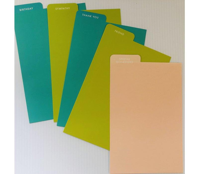 Card File Set - American Greetings
