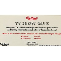 Quiz - TV Show USA - V1