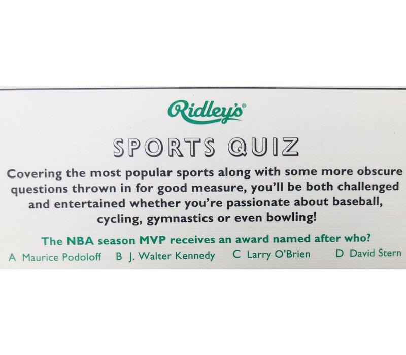 Quiz - Sports USA