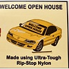Banner - Windshield - Open House - Gold