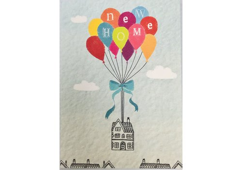 Card - New Home Ballooning
