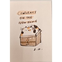 Card - New Home - Cat New Home