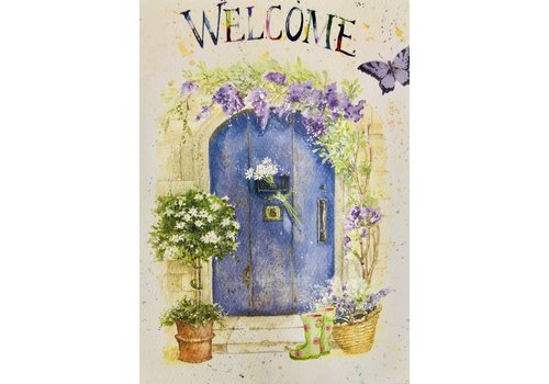 Card - New Home - Welcome - Blue Door