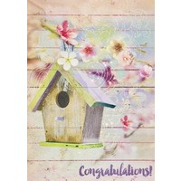 Card - New Home - Birdhouse