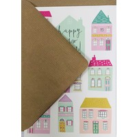 Card - Happy New Home - Houses