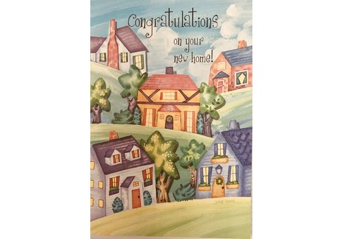 Card - Congratulations On Your New Home !