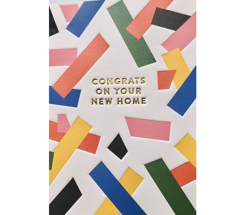 Card - Congrats on your New Home