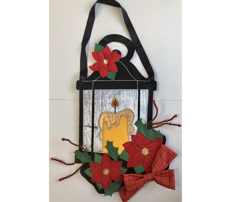 Fabricreation - Poinsettia Lantern