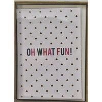Cards - Holiday - Petite - Oh What Fun