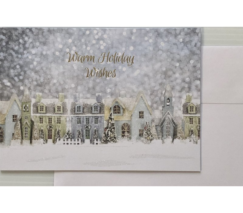 Cards - Holiday - Classic Christmas Village