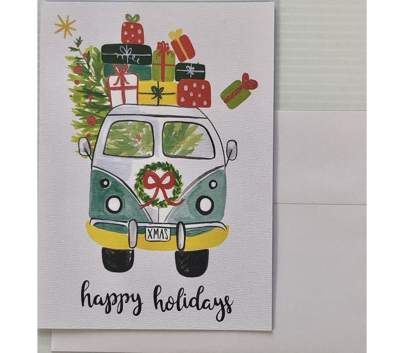 Cards - Holiday - Classic Van