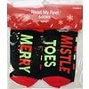 Socks - Read My Feet - Holiday
