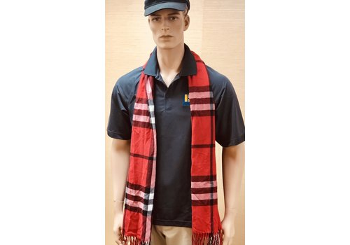 Scarf - Red - Regan Plaid
