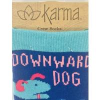 Socks - Downward Dog