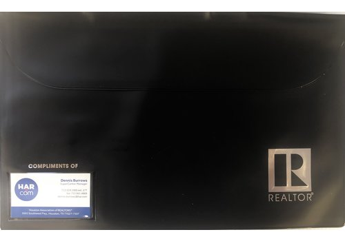 Closing/Document Pouch - R - Black