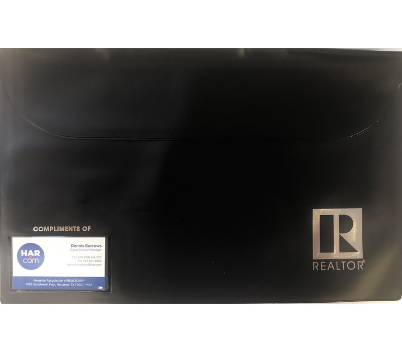 Closing/Document Pouch - R - Black