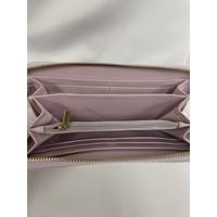 Wallet - Zip Around - Silver Glitter
