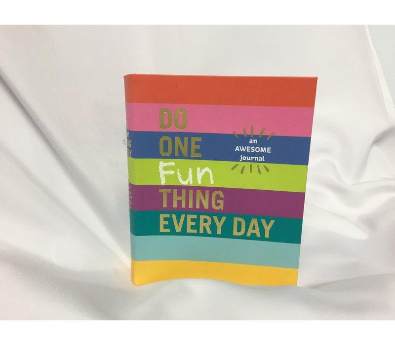 Journal - Do One Fun Thing