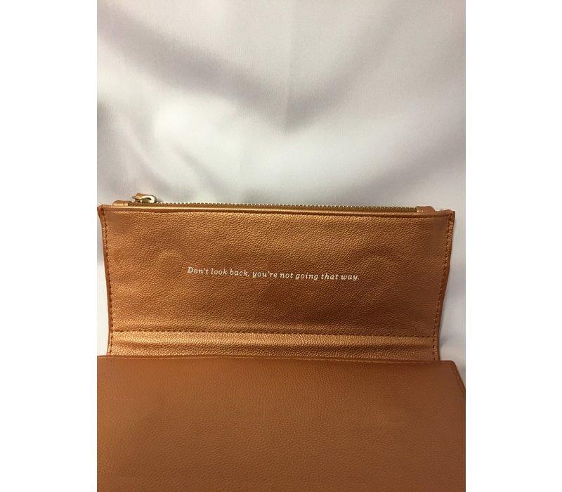 Journal - Clutch - Fx Lea - Copper