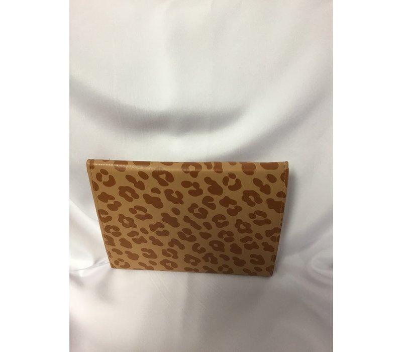 Journal - Clutch - Leopard - Brown