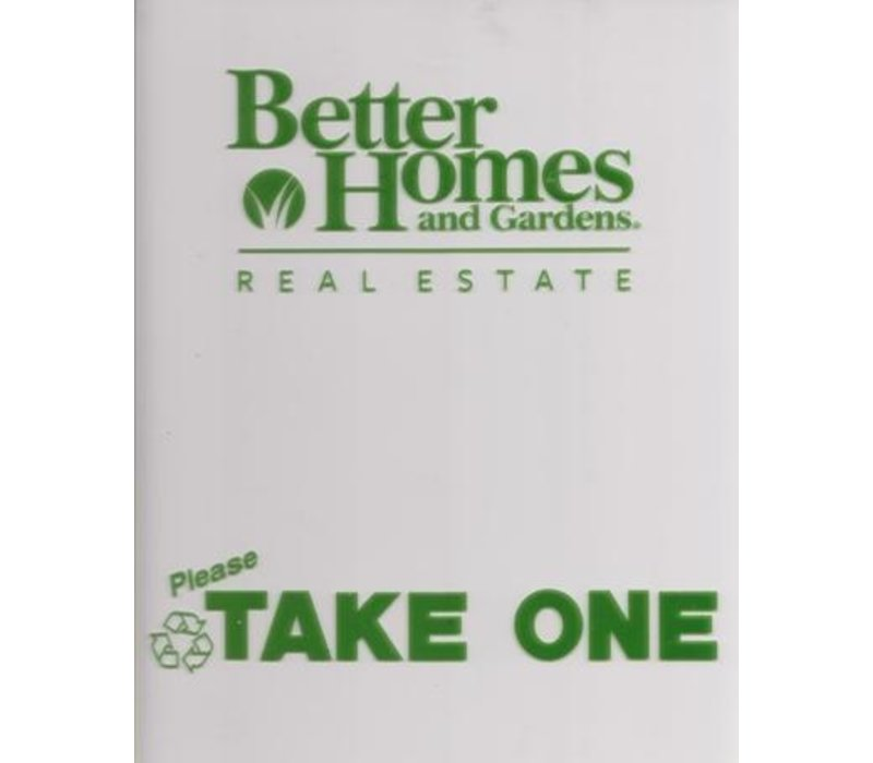 Flyer Box - Front - Better Homes
