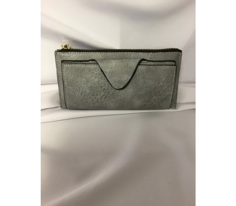 Wallet - KYLA - Grey/Blue