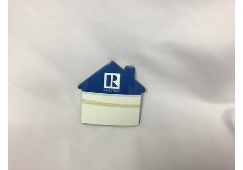 Magnet - Bus Card Hldr - House - R