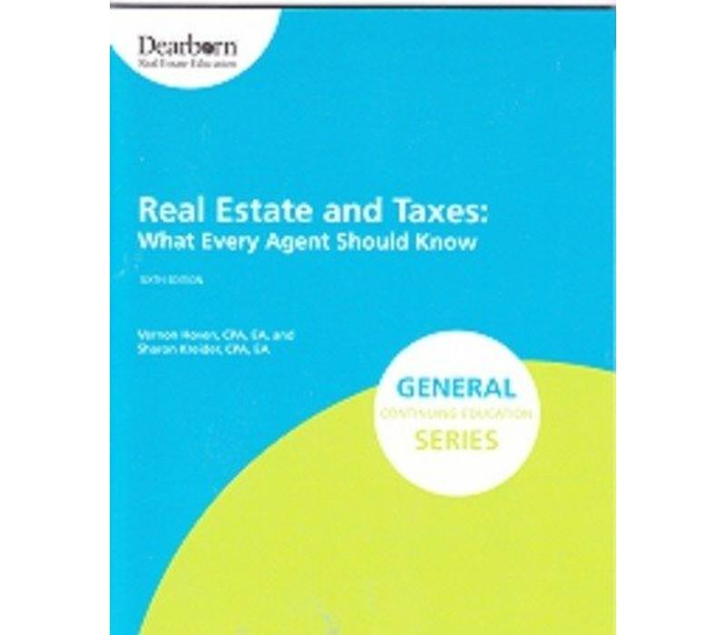 Real Estate & Taxes - 6th Edition