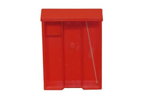 Flyer Box - Back W/Lid - Red