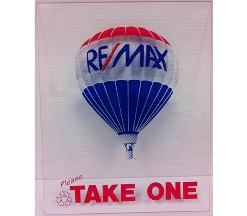 Flyer Box - Front - Re/Max